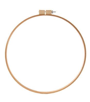 Darice Wood Quilt Hoop Round