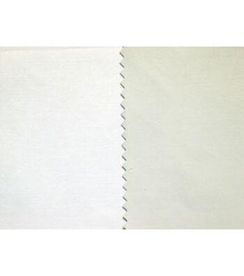 "Roc-Lon Fabric Lining 54""-Budget Blackout Flame Resistant Ivory / Ecru"