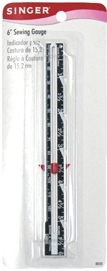 Singer Sewing Gauge-6""