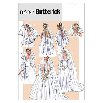 Butterick Misses Bridal-B4487