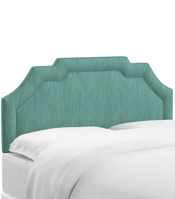 Skyline Furniture Notched Border Headboard-Full