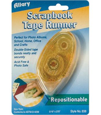 """Allary 5/16""""x275"""" Scrapbook Tape Runner-Repositional"""