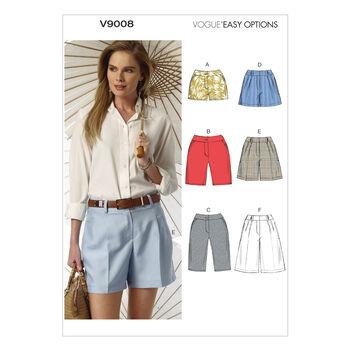 Vogue Patterns Misses Pants-V9008