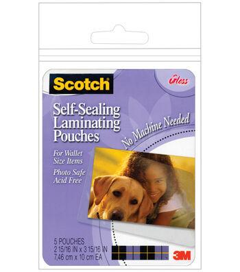 Scotch Self-Sealing Laminating Pouches 5pk