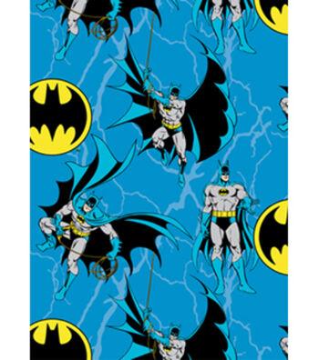 """DC Comics Batman Fleece Fabric58""""-Batman Rope"""