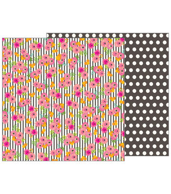 Pebbles Jen Hadfield Patio Party 25 pk Double-Sided Cardstock-Tablescape