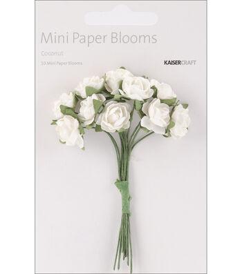 Mini Paper Blooms