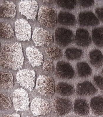 "Fashion Faux Fur Fabric 57""-Neutral Pebble"