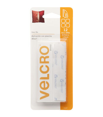 VELCRO® Brand 0.75''x1'' Fabric Fusion Heat-Activated Adhesive
