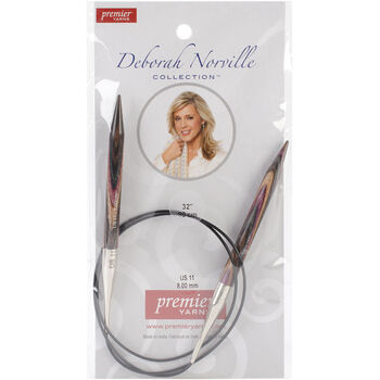 "Deborah Norville Fixed Circular Needles 32""-Size 11/8mm"