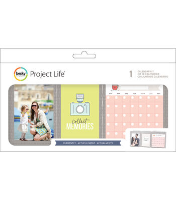Project Life Currently Pack of 25 Pocket Calendar Kit