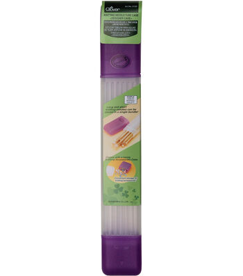 Knitting Needle Tube Case Purple