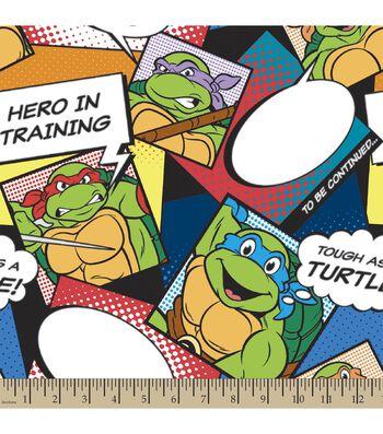 Teenage Mutant Ninja Turtles Print Fabric-Turtles Style