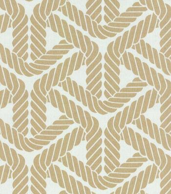 P/K Lifestyles Outdoor Fabric-Top Sail Trellis Sand
