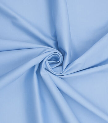 Bottomweights Stretch Twill Fabric 57''-Blue Solid