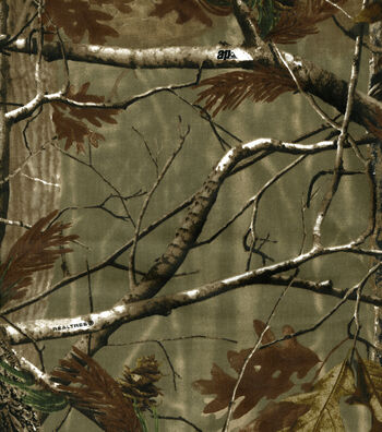 """Camouflage Duck Cloth Fabric 60""""-Realtree Duck"""