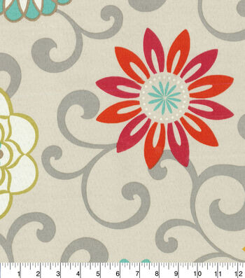 "Waverly Upholstery Fabric 54""-Pom Pom Play Nectar"