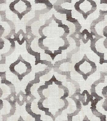 """Kelly Ripa Upholstery Fabric 54""""-Good Vibes Ebony"""
