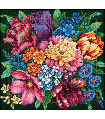 Dimensions Needlepoint Kit Floral Splendor