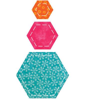 AccuQuilt Go! Fabric Cutting Die Hexagons