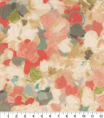 Waverly Upholstery Fabric 54''-Mimosa Floral Palette