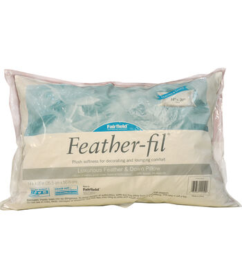 Fairfield® Feather-fil 14''x20'' Pillow