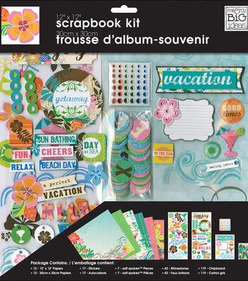 """Me & My Big Ideas Page Kit 12""""X12""""-Surf Shop"""