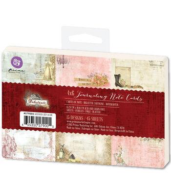 Prima Marketing Debutante 4''x6'' Journaling Notecards