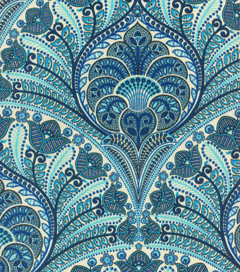"""Tommy Bahama Outdoor Fabric 54""""-Crescent Beach Riptide"""