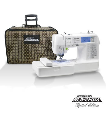 Brother Project Runway ™ LB6800PRW Embroidery & Sewing Machine