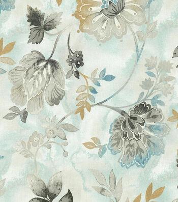 "Kelly Ripa Upholstery Fabric 54""-Light Hearted Spa"
