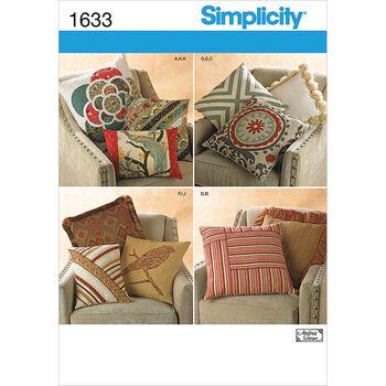 Simplicity Pattern 1633OS One Size -Simplicity Crafts Ho