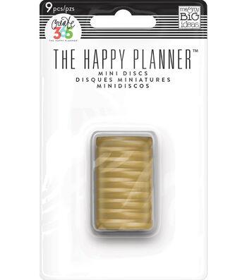 Create 365 The Happy Planner™ Mini Discs-Gold Classic