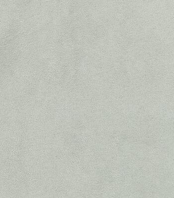 "Signature Series Multi-Purpose Faux Suede Decor Fabric 54""-Light Gray"
