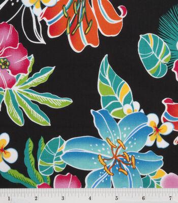 "Tropical Shirting Fabric 43""-Lily"