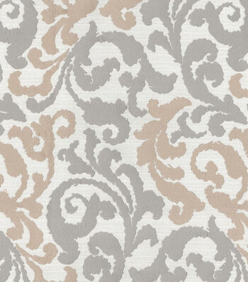 """Kelly Ripa Upholstery Fabric 58""""-Graceful Curves Linen"""