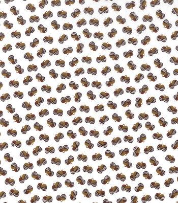 "Holiday Showcase™ Harvest Cotton Fabric 43""-Mini Acorns"