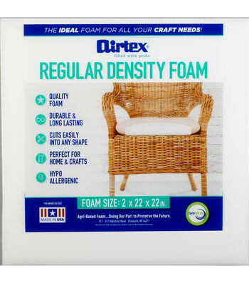 """Airtex High Density Chair Pad-22""""x22""""x2"""""""