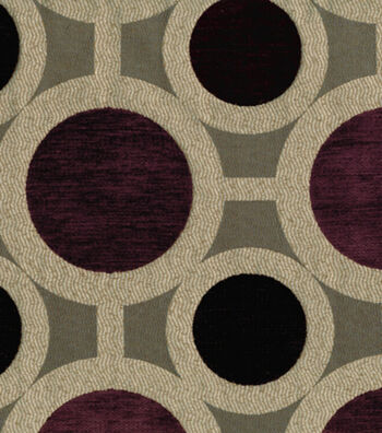 "Richloom Studio Multi-Purpose Decor Fabric 55""-Conspiracy Mulberry"