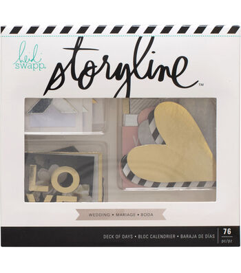 Heidi Swapp Storyline Deck of Days-Wedding