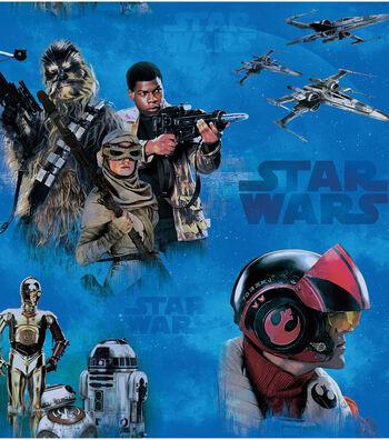 "Star Wars™: The Force Awakens Fleece Fabric 58""-Heroes"