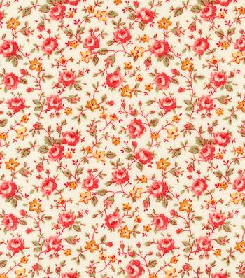 "Premium Quilt Cotton Fabric 44""-Small Floral"