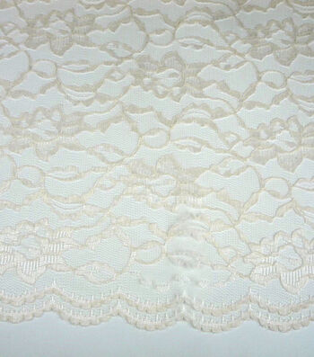 "Casa Collection Lace Fabric 58""-Eggnog"