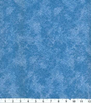 "Keepsake Calico™ Cotton Fabric 44""-Blue Vinery"