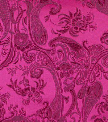 """Cosplay by Yaya Han Brocade Fabric 58""""-Fuchsia"""