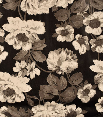 "Pleather Fabric 53""-Floral"