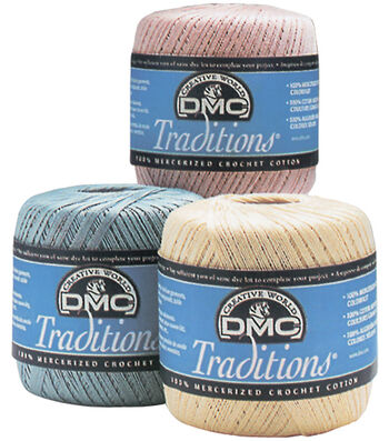 DMC Traditions Crochet Cotton Size 10