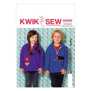 Kwik Sew Pattern K4025 Children's Outerwear