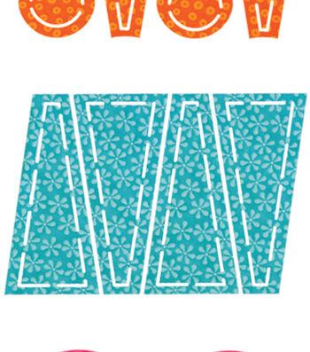 Go! Fabric Cutting Dies-Dresden Plates