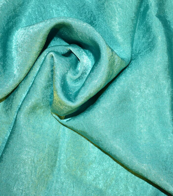 """Silky Sanded Satin Fabric 58""""-Pepper Green"""
